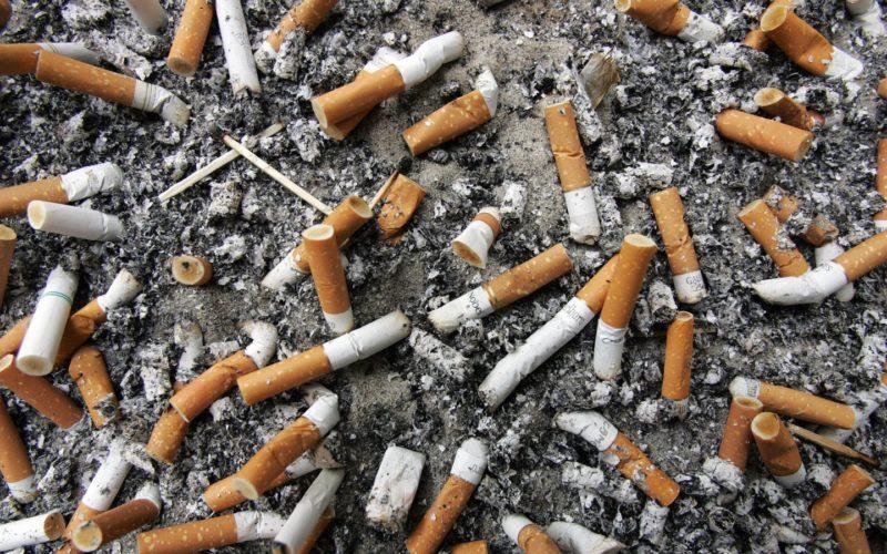 Smoking waste new