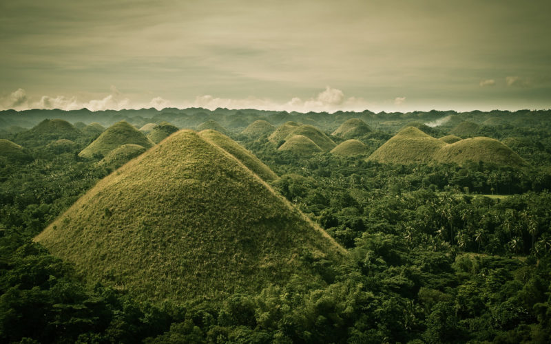 The Phillips chocolate hills