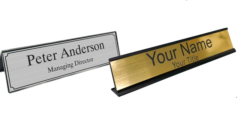 Office Name Plates For Desk