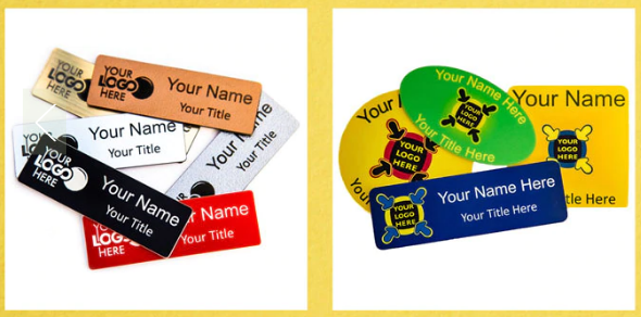 Customised Name Badges