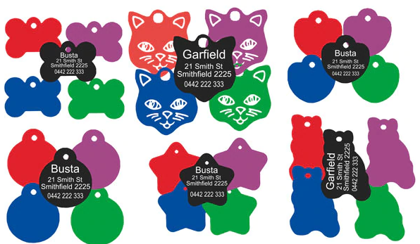 Pet Collars Tags