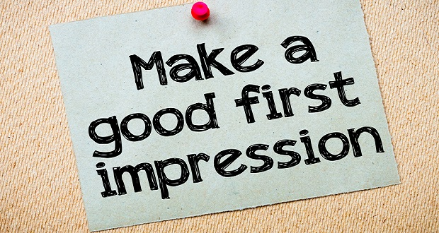 Make your first impression good